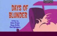 Days of Blunder